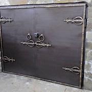 гаражные ворота астана фото
