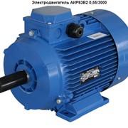 Электродвигатель АИР63B2 0,55/3000 фото