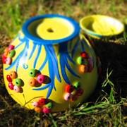 Керамические горшки для цетов ручной работы фото