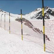 Сетка для горнолыжных трасс фото