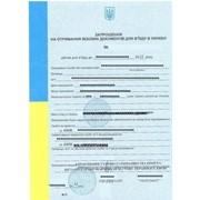 Деловое приглашение в Украину для иностранцев фото