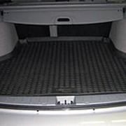Коврик в багажник Chevrolet Cobalt 2013-2015 (полиуретановый с бортиком) фото