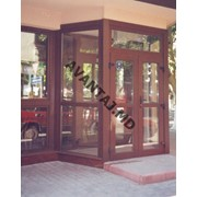 Двери из красного дерева, арт. 1 фото