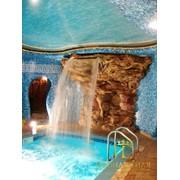 Изготовление искусственных водопадов фото