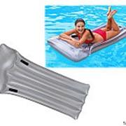 Матрац надувной для плавания серебристый 59726 фото