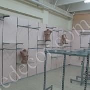 Изготовление и установка стеллажей и прилавков фото