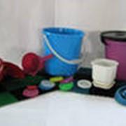 Пластиковые ведра. фото