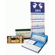 Календари настенные настольные карманные фото