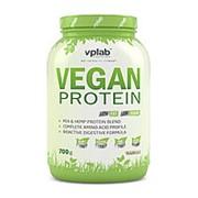 VPLab Vegan Protein 700 г. Протеин растительного происхождения. Ваниль. фото