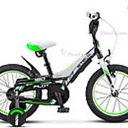 "Велосипед Stels Pilot 180 16"" V010 (2018) Зеленый фото"