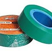 Изолента ПВХ, зеленая, 19 мм*10 м AIRLINE фото