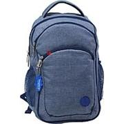 Городской рюкзак Bagland 'Лик Меланж' 0055769 синий фото