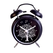 Стильные часы-будильник фото