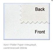 Холст Plotter Paper глянцевый, синтетический 280г/м 610мм (24″) x 18м фото