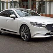 Молдинги на двери Mazda 6 2018-наст.время(шагрень) фото