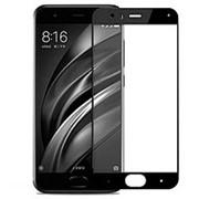 Защитное стекло с рамкой для Xiaomi Mi6 (Black) фото