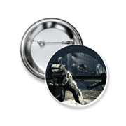 Значок закатной Wolfenstein, Вольфенштайн №1 фото