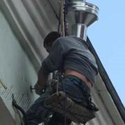 Монтаж, ремонт водосточных труб фото