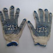 Перчатки хлопчатобумажные рабочие ФАРА фото
