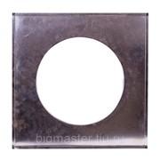 Фланец D350 мм (600х600 мм, нерж. 0,5 мм) фото