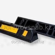 Колесоотбойник резиновый делиниатор 600*120*100мм фото