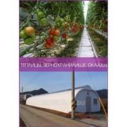Теплицы, зернохранилище, склады фото
