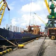 Портовое экспедирование грузов. фото