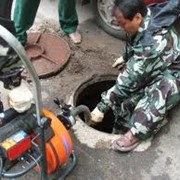 Чистка систем канализации фото
