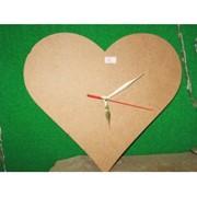 "Заготовка для часов ""Сердце"" фото"