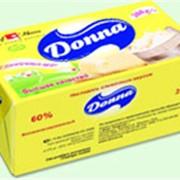 Масло растительно-жировое Donna жирность 60% 200 г в фольге фото
