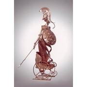 Бизнес-сувенир Афина на колеснице фото