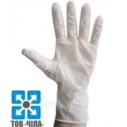 Латексные перчатки опудренные (XS,S,M,L,XL) фото