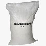 Антигололедный реагент: Соль техническая фото