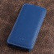 Чехол книжка Melkco для iPhone 5C (Dark Blue LC) фото