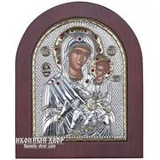Иверская Икона Пресвятой Богородицы - Красивая Греческая Икона С Кристаллами Сваровски Код товара: ОSTONE plus фото