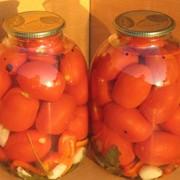 Помидоры консервированные, 3 литра фото