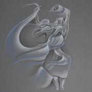 Картина в технике пастель Dancing Apart фото