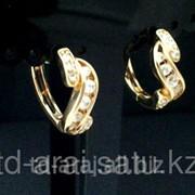 Сережки Swarovski, код 5609784 фото