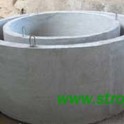 Кольца (кольцо) колодцев канализации КС10-9, КС15-9, КС20-9, КС7-9, КС10-6, КС 15-6, КС20-6 фото