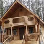 Дома деревянные. фото