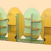 Детский сад, Стенка детская (МДФ), мебель для детского садика, детская мебель, корпусная мебель, детский шкаф, детская стенка, мебель на заказ фото