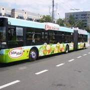 Наружная реклама на транспорте от Lucky фото