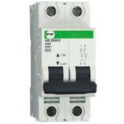 Автоматический выключатель АВ2000 2Р C 1A 6кА, модульные автоматические выключатели Standart фото
