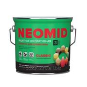 Декоративный деревозащитный состав (пропитка) NEOMID (Неомид) BiO COLOR Classic фото