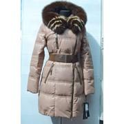 Куртка женская пуховик 13029 фото
