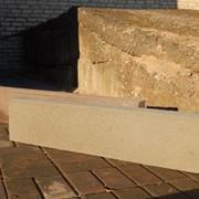 Камень бордюрный БРТ100.20.8 серый фото