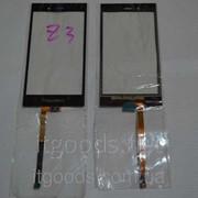 Оригинальный тачскрин / сенсор (сенсорное стекло) для BlackBerry Z3 (черный цвет) + СКОТЧ В ПОДАРОК фото