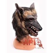 Маска с мехом Волк фото