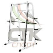 Тренажер штанга по ходовым с обратным наклоном (Станок Смитта с обратным наклоном) фото