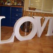 Объёмные буквы, логотипы и декор из пенопласта минск фото